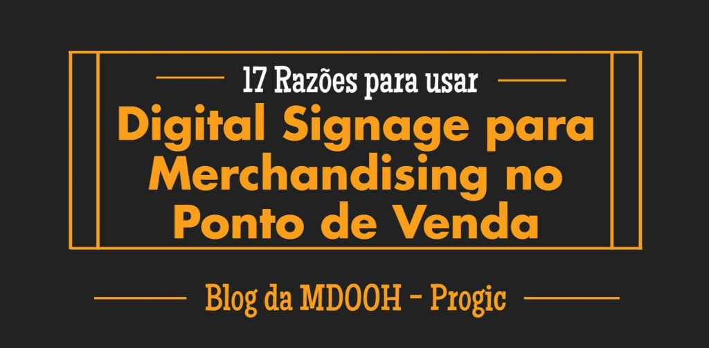digital signage para pdv